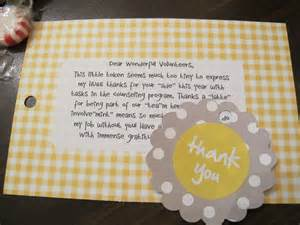 inexpensive thank you gift idea gift ideas gift volunteer ideas and creative
