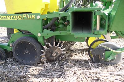 setting planting equipment for successful no till