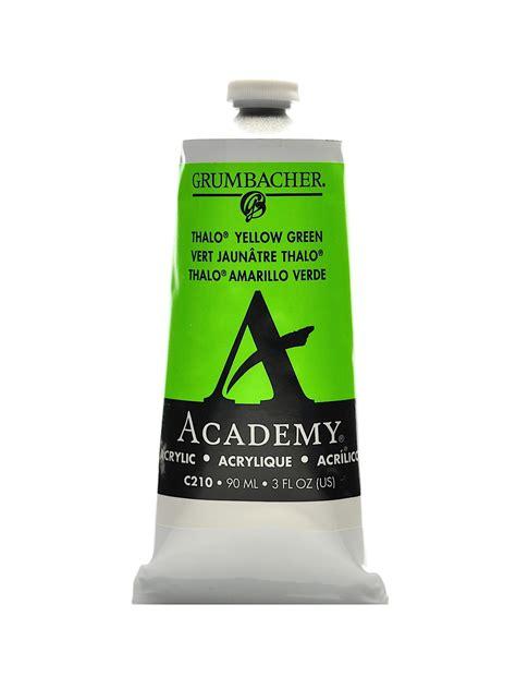 grumbacher academy acrylic colors misterart
