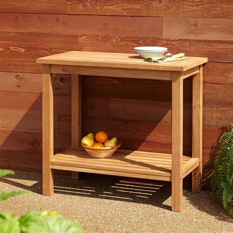 teak outdoor buffet cabinet 48 quot lexington teak sideboard home accents