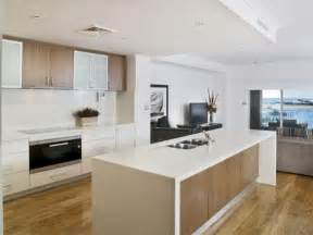 Kitchen Overhead Cabinets Overhead Cabinets Glass And Timber Breaks Up Colours