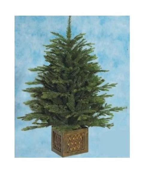 vaso per albero di natale albero di natale pinetto con vaso altezza 100 cm 8351