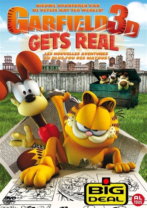 Gets Real by Bol Garfield 3d Gets Real Frank Welker