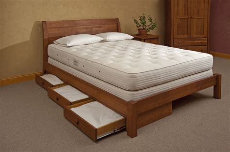 Bed Drawer Runners by Amish Regular Beds And Furniture The Organic Mattress