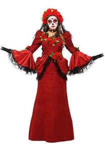 Day Of The Dead Halloween Costumes Women S Day Of The Dead Costume