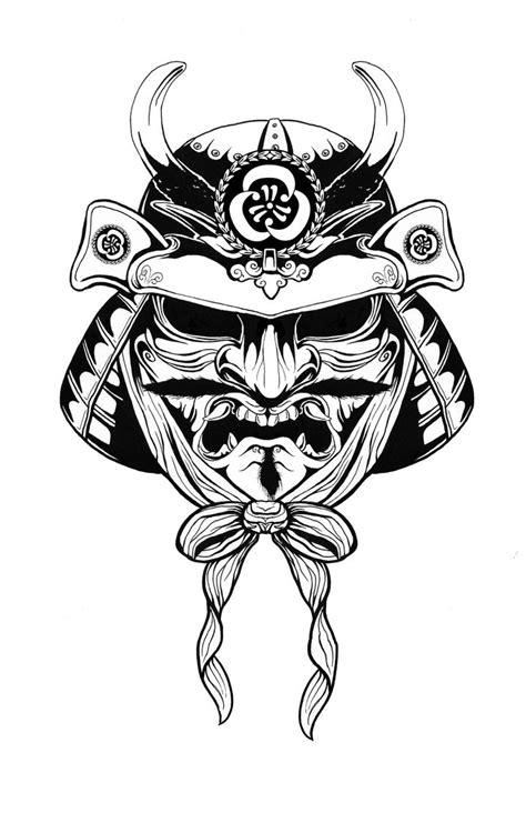samurai helmet tattoo designs samurai by artfullycreative on deviantart
