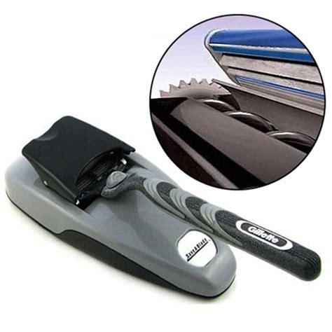 Jual Pisau Cukur Kumis alat pengasah pisau cukur tajam kembali seperti baru