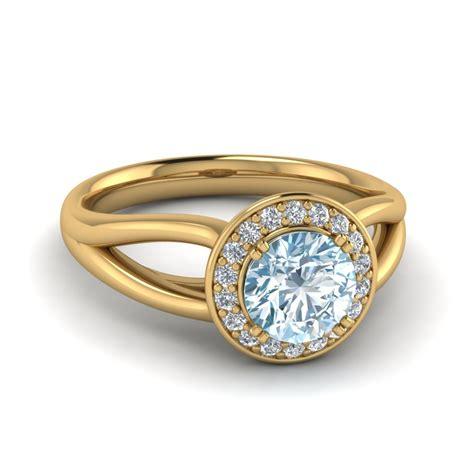 aquamarine and halo ring fascinating diamonds