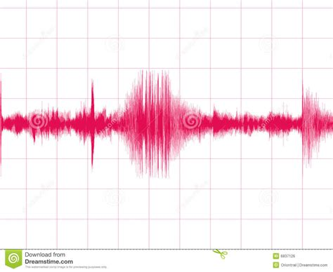 earthquake graph earthquake graph royalty free stock image image 6837126