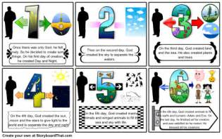 creation story for book 6 best images of 7 days of creation printable printable file folder game creation 7 day