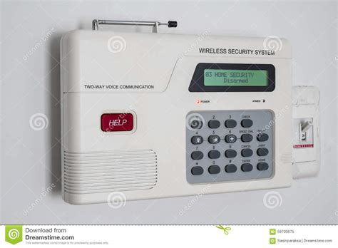 home security system stock photo image 59700675