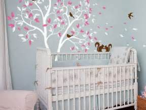 Nursery Decor Wallpaper Baby Nursery Decor Light Blue Baby Nursery Wallpaper Tree Branch Mural Removable Decal