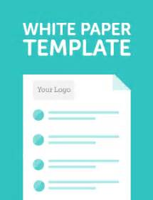 White Paper Template by Our White Paper Template To Kick Start Your