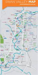 valley map swan valley map