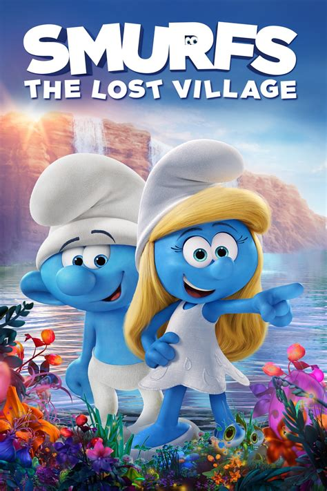 film 2017 cartoon smurfs the lost village 2017 posters the movie