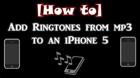 download mp3 from youtube straight to iphone how to add ringtones to a jailbroken iphone from an mp3