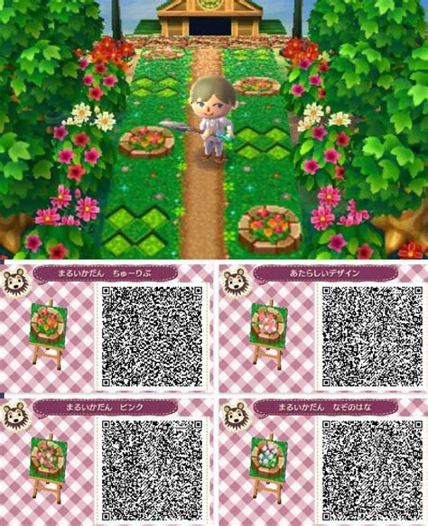 acnl flower qr codes paths 1000 images about acnl path codes on pinterest