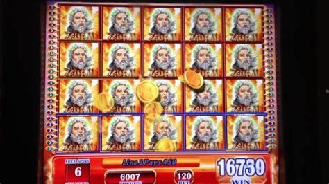 zeus ii slot machine full screen win youtube