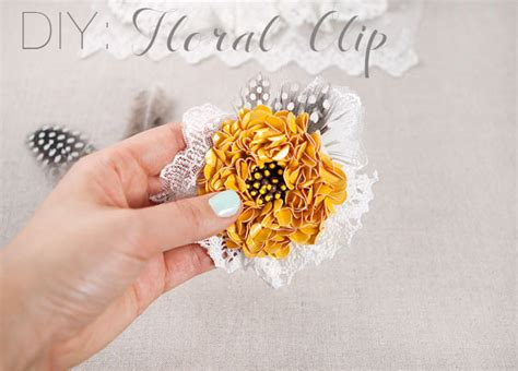 how to make wedding floral hair accessories hgtv gardens 25 diy hair accessories to make now everythingetsy com
