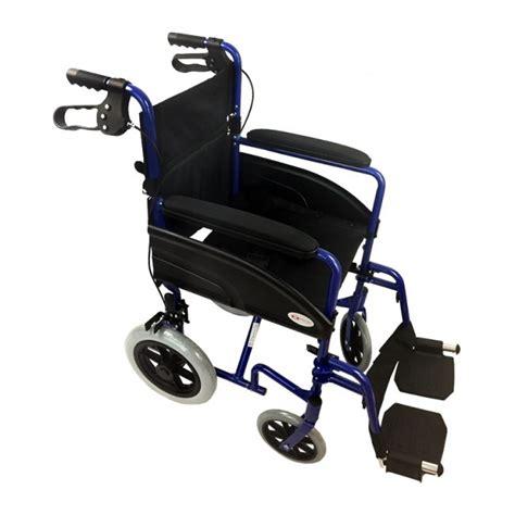 silla de ruedas de aluminio silla de ruedas de aluminio plegable compacta con frenos