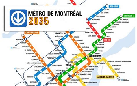 montreal metro map montreal s stm metro map of the year 2035 mtl