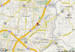 Loveland Ohio Map by Map Of Springhill Suites Cincinnati Northeast Loveland