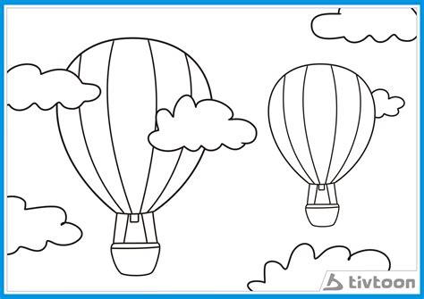 gambar mewarnai awan gambar mewarnai lucu