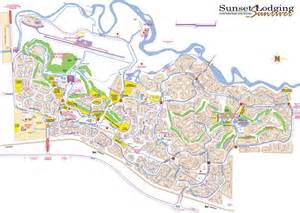 Map Of Sunriver Oregon sunriver map sunset lodging