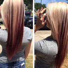 underlay hairstyles absolutely gorgeous multi dimensional color bright red