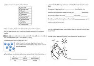 heat transfer revision worksheet by nom deguerre uk