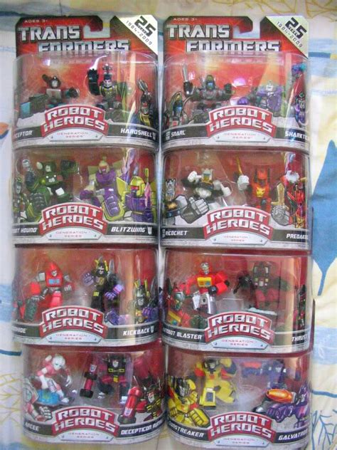 marvelous penang toy collection transformers robot heroes g1