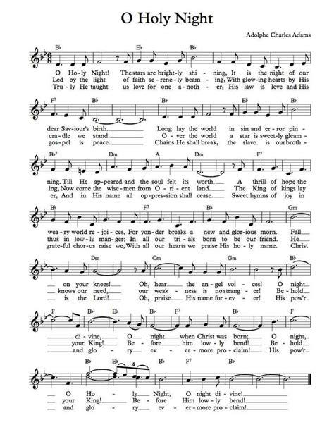printable sheet music free christmas free sheet music free lead sheet o holy night