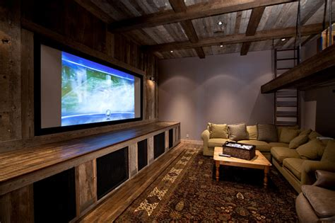 Home Interior Wall Decor lake tahoe dream home rustic home theater