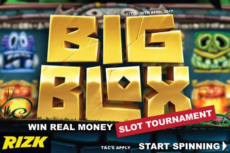 Casino Win Real Money - big wins await with the big blox slot tournament at rizk casino