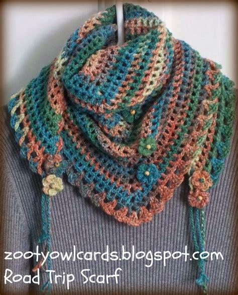 scarf pattern pinterest road trip scarves pattern crochet knit pinterest