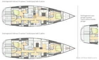 Floor Plans Designer Amel 64 Specifications And Details On Boat Specs Com