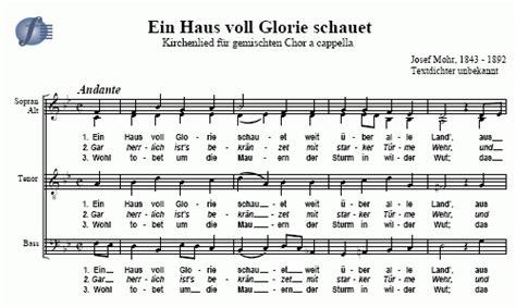 Ein Haus Voll Glorie Schauet Church Song Josef