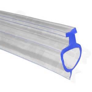 bottom pvc extrusion channel seal strip for folding bath clear bath screen shower seal 900mm f