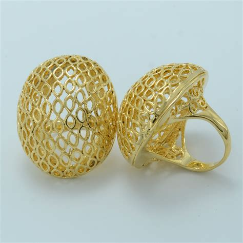 Wedding Ring Kenya by One Big Ring For Gold Plated