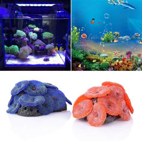 2 colors aquarium plants coral combination fish tank