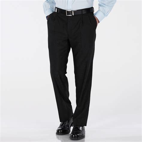 comfortable dress pants covington men s comfort fit flat front dress pants sears