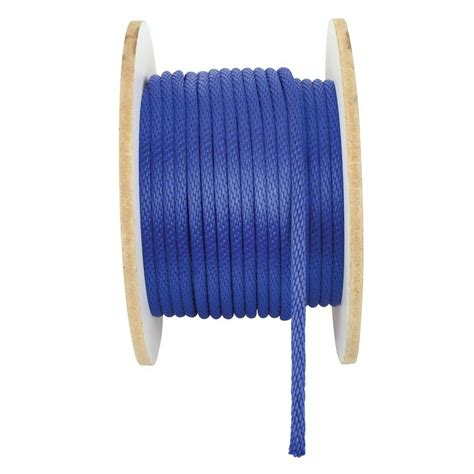 crown bolt 1 2 in x 250 ft solid braid polypropylene
