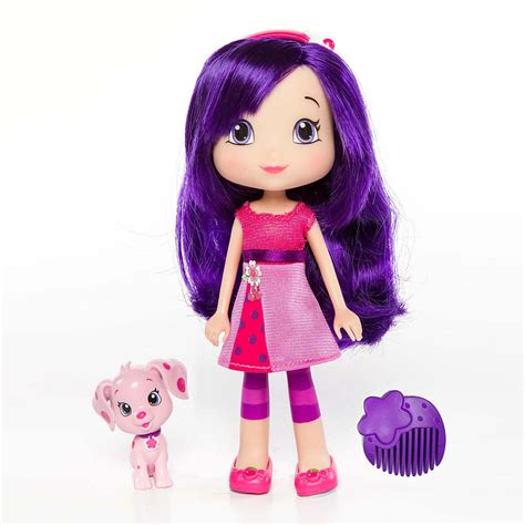 strawberry shortcake 6 fashion doll with pet strawberry shortcake 6 inch fashion doll with pet cherry