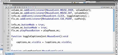 flash xml tutorial as3 how to create actionscript cue points to add closed