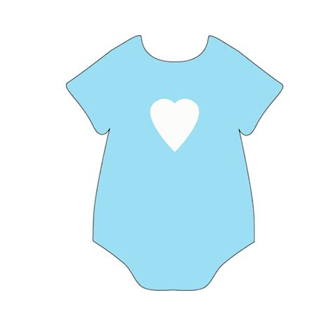 Boy and girl onesie perfect for baby shower banner
