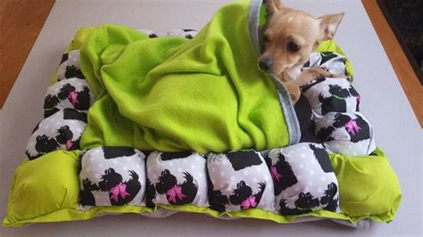 dog bed attached to bed pet bed with attached fleece snuggle blanket for burrowing