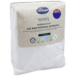 Mattress Protector Baby by Silentnight Cot Bed Mattress Protector Baby Bedding B M