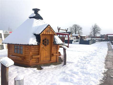 Winterfestes Gartenhaus