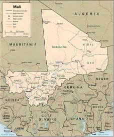 Galerry Collection of Mali Maps and Mali Satellite Images