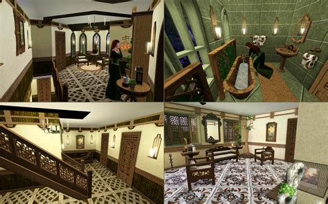 elvish home decor mod the sims mirkwood glade an elven dwelling
